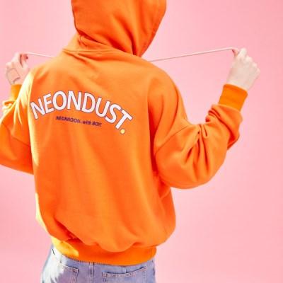 NEONDUST. 19SP HOODIE Orange