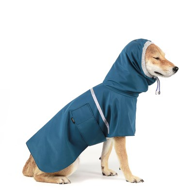 OUTDOOR RAIN COAT [GREENBLUE]