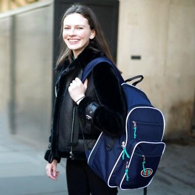 [위글위글] Funky Backpack 백팩-Navy