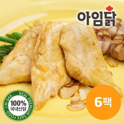 [아임닭]갈릭스파이시 닭가슴살 150g x 6팩