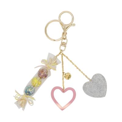 Candy Snowball Key Chain