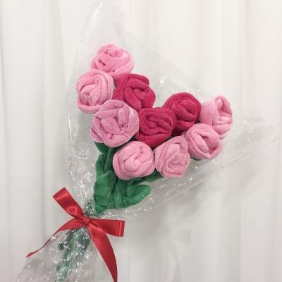 장미꽃인형 꽃 한송이 (6컬러)