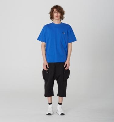 [디바이디그낙] Cago Crop Baggy Pants BK