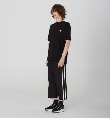[디바이디그낙] 2 Line Baggy Pants BK