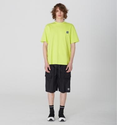 [디바이디그낙] Nylon Oversize Pocket Shorts BK