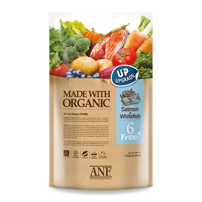 ANF 유기농 6FreePlus 연어&흰살생선/강아지사료
