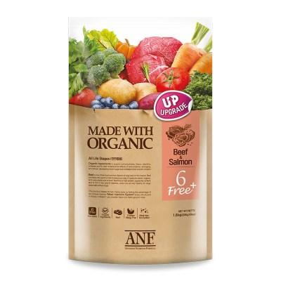 ANF 유기농 6FreePlus 소고기&연어/강아지사료