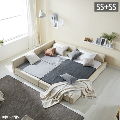 모던라운지 슈퍼싱글+슈퍼싱글 패밀리 침대 (매트리스별_(11513571)
