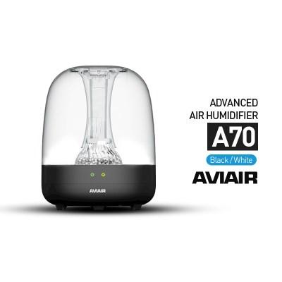 [에비에어]E 투명 세라믹 클린 초음파가습기 A70(블랙)