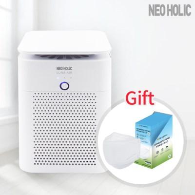 [사은품]네오홀릭 미니 공기청정기 LUNA-AIR 헤파필터 H14등급