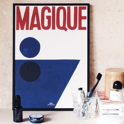 호텔마지크 아트 포스터 A3 - 스플래시