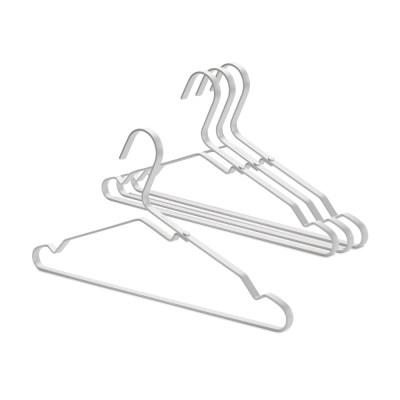 [브라반티아] LINN(린) 알루미늄 옷걸이 4P 세트 - 실버
