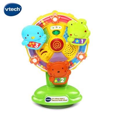 vtech 노래하는스피닝휠 /감각발달/멜로디/아기전화기_(301667171)