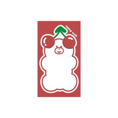 체리베어 떡메모지 미니_(2023695)