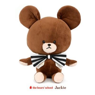 베어스쿨 재키 단추 베스트 곰 인형 30cm
