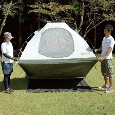 로고스 텐트 그라운드 시트 270 71809709 캠핑 텐트용품 방수포