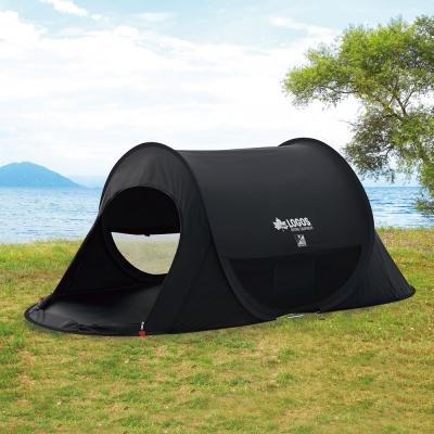 로고스 블랙 원터치 팝업텐트 71809709 캠핑 피크닉