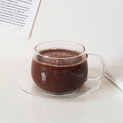 내열 유리 커피잔세트(350ml) 찻잔