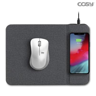 스탠드형 고속 무선충전 마우스패드 10W MP3364WL