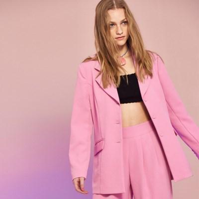 Minimal Jacket in Pink