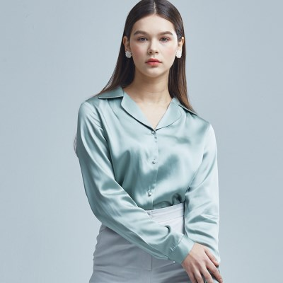 VISCOSE-BLOUSE MINT