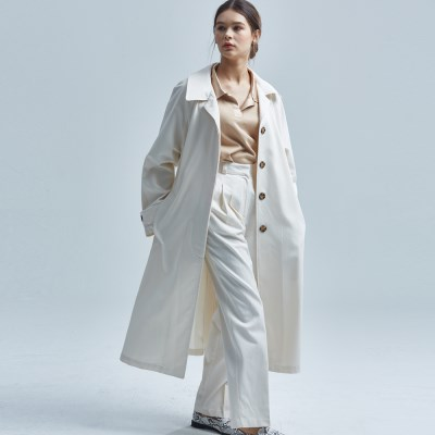 BERLIN RAGLAN COAT IVORY