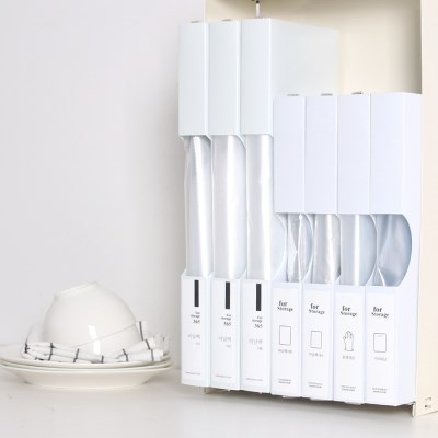 비닐봉투정리함 와이드형