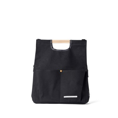 PARK PACK FOLDING TOTE 281 CANVAS BLACK_(638660)