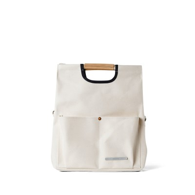 PARK PACK FOLDING TOTE 281 CANVAS OFF WHITE_(638657)