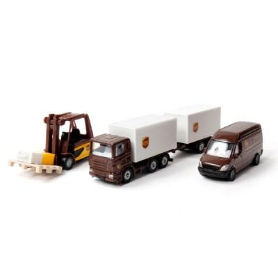 [시쿠] UPS 물류차량 세트_(301668185)