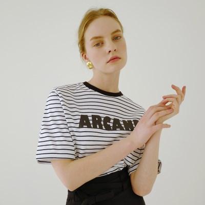 [루흠] ARCANE STRPE T WHITE