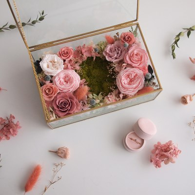 POSH GOLD PROPOSE BOX