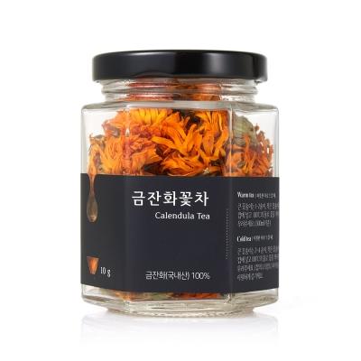 채온 꽃차 금잔화꽃차