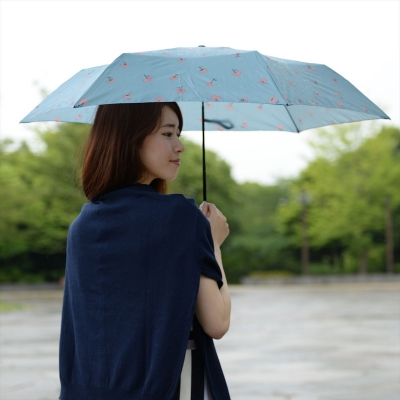 [UMBRELLA] smart light flower point carbon mini