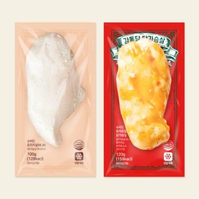 감동닭- 수비드 닭가슴살 1kg~ (오리지널/토마토할라피뇨)
