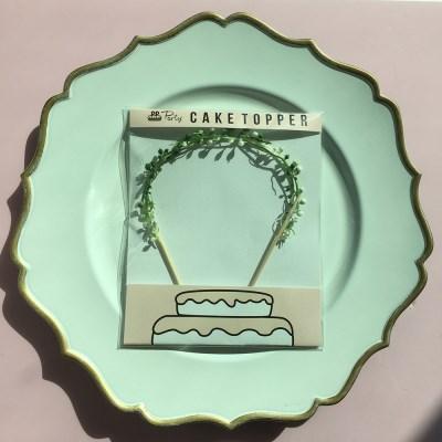 PP CAKE TOPPER -litte leaf