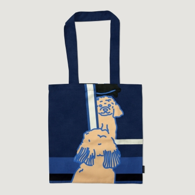 doggie in the mirror bag - Navy (Large)