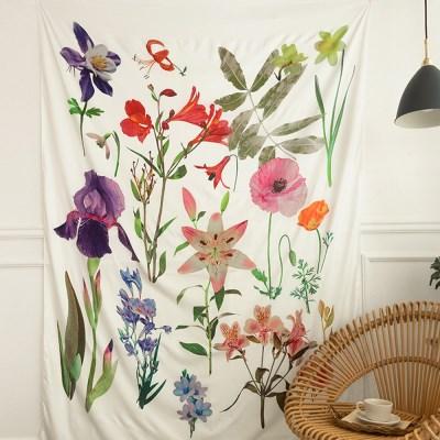 꽃의정원 패브릭포스터 150x200cm