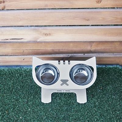 니앙볼 NIANG BOWL 고양이 밥그릇 (그레이 색상)