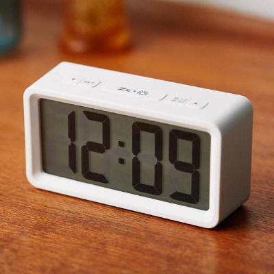 오리엔트 LCD 심플 스마트 디지털 알람시계 OT1582W