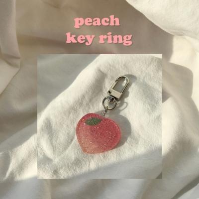 [뮤즈무드] peach key ring (키링)