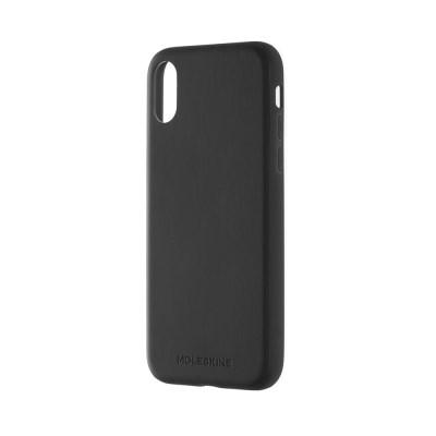 T 아이폰X-북타입 소프트 터치 하드 케이스/블랙