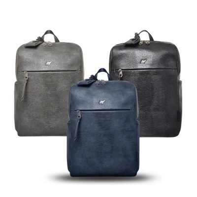 [비아모노] LIZARD BASIC SQUARE BACKPACK 3COLORS_(984911)