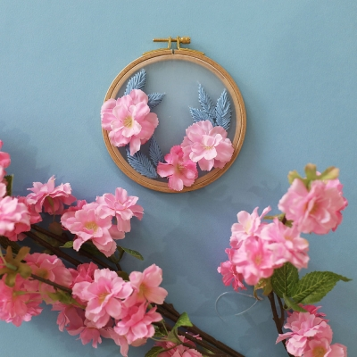 포시즌가든 투명자수 시리즈 KIT - 벚꽃 Cherry blossom