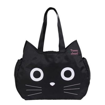 [일본]검정 고양이 에코백-766576