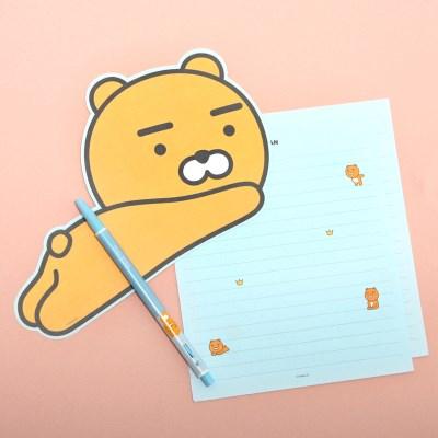 카카오프렌즈 형태 편지지_(3965528)