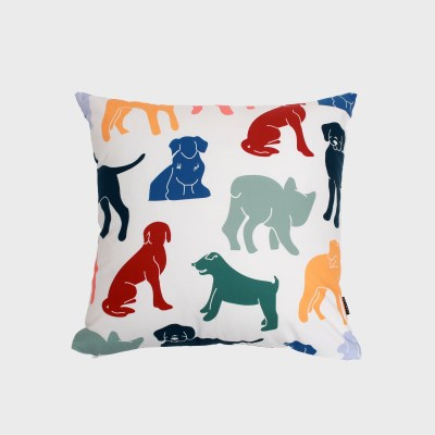 Playful dogs cushion covers