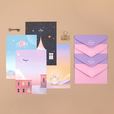 LETTER SET_MOONLIGHT VER.2