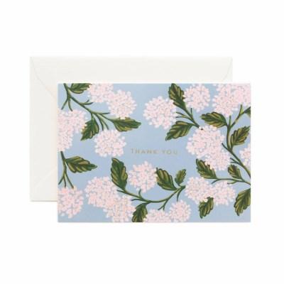 CARD-Hydrangea Thank You