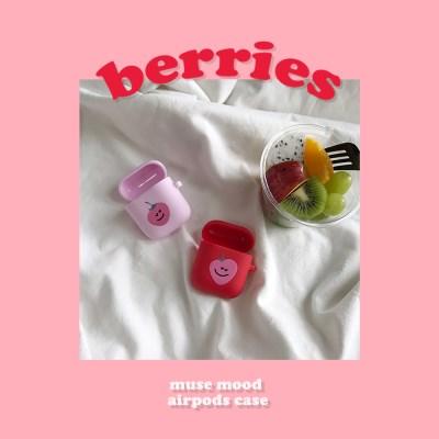 [뮤즈무드] berries airpods case (에어팟케이스)